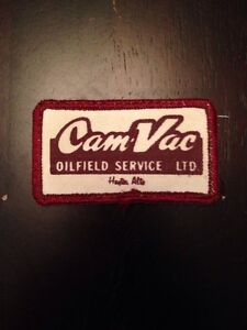 Cam vac Oilfield Service Ltd 3 Patch Sew On Hayter Alberta Canada Oil Rig Ab