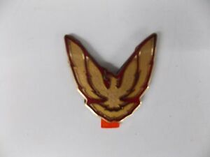 1987 1990 Firebird Trans Am Sail Panel Bird Emblem Genuine Gm 10118528 Nos