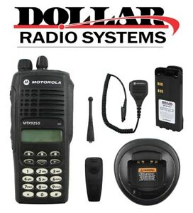 Used Motorola Mtx9250 900mhz Privacy Plus Trunking Dtmf Radio Police Fire Ham