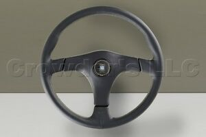 Nardi Steering Wheel 365 Mm Gara 3 3 Black Leather Kba abe 70138 6071 36 2171