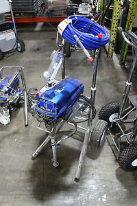 Graco Ultra Max Ii 595 Pc Pro Airless Sprayer Hi boy Reconditioned 17c337