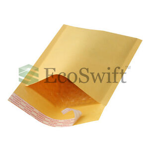 100 000 4x8 Self Seal Kraft Bubble Padded Envelopes 5 X 8 X wide Mailers Bags
