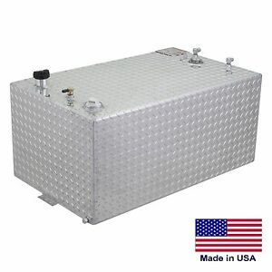 Fuel Transfer Tank 80 Gallon Tank 50 L X 20 W X 19 H Tread Finish