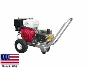 Pressure Washer Portable Cold Water 3 Gpm 2500 Psi 5 5 Hp Honda Cat