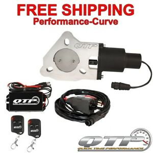 Qtp Quick Time Performance 2 5 Electric Exhaust Cutout Wireless Qtec25k