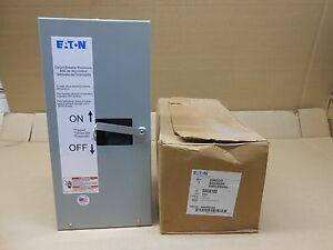 Nib Eaton Sgdn100 Circuit Breaker Enclosure 100 Amp 100a Nema Type 1 1 2 3 Pole
