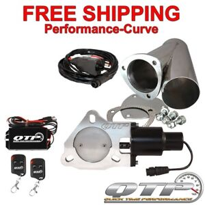 Qtp Quick Time Performance 3 Electric Exhaust Cutout Wireless Kit Qtec30cpsk