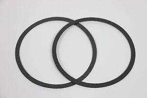 2 Air Cleaner Gaskets Fits 5 1 8 Carbs Edelbrock Holley Rochester Sbc Bbc 350