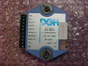 Dgh K Thermocouple Module D1321 150 To 1250c Rs 232