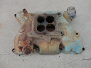 Buick Nailhead Original 4 Barrel Intake Manifold 1363782 401 425 Hot Rod