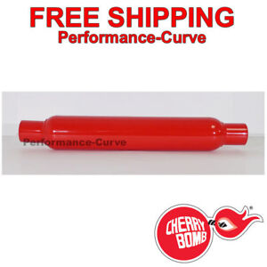 Cherry Bomb Glasspack Muffler 2 In Out 18 Body 87507cb