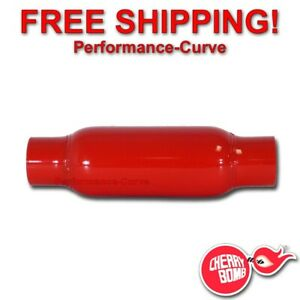 Cherry Bomb Glasspack Muffler 2 25 In Out 12 Body 87521cb