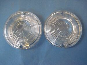 Nos 1961 Dodge With Automatic Transmission Back Up Light Lenses Pair