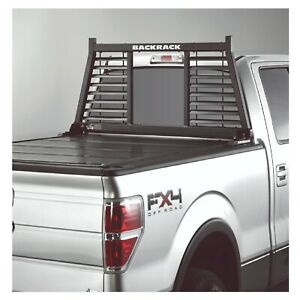 Backrack 144lv Half Louver Headache Rack Frame Only For C K Silverado Ram Titan