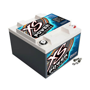 Xs Power D925 12 Volt Agm Battery M6 Terminal Hardware Included