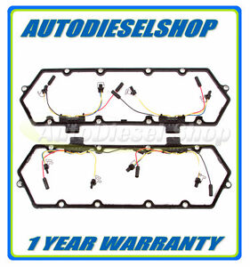 94 97 7 3l Ford Powerstroke Diesel Valve Cover Gaskets 7 3