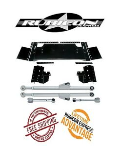 Rubicon Express Extreme Duty Long Arm Upgrade Kit 84 01 Jeep Cherokee Xj Re6330