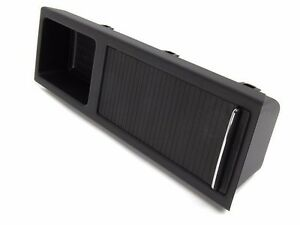 Bmw E46 Center Console Tray Storage Insert Cover Black