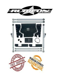 Rubicon Express Extreme Duty Long Arm Upgrade Kit 04 06 Jeep Wrangler Lj Re7232