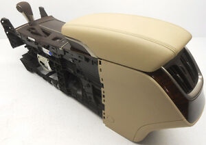 Oem Buick Lacrosse Center Console With Luxury Package Rlx Tan