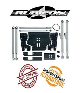Rubicon Express Extreme Duty Long Arm Upgrade Kit 97 02 Jeep Wrangler Tj Re7230