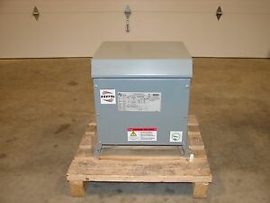 new Hammond Hps Distribution Transformer Pri 480v 208y 120v 15kva Sg3a0015kb