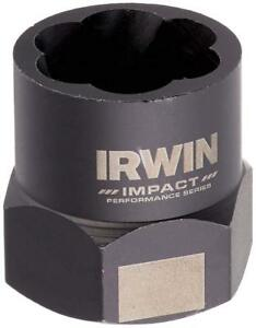 Irwin 53912 Bolt Extractor For 11 16 Bolts Reverse Spiral Flutes 3 8 Drive