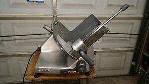 Hobart 2812 Manual 12 Meat Deli Cheese Slicer Butcher works Great