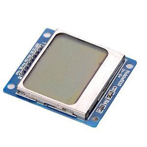 84x48 Nokia Lcd Module Blue Backlight Adapter Pcb Nokia 5110 Lcd For Arduino Ca