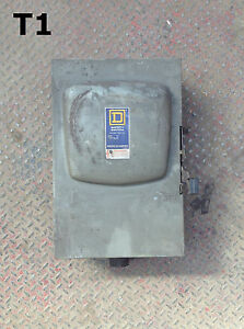 Square D Du 324 200a Safety Disconnect Switch 240vac