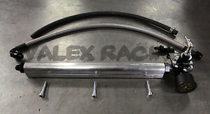 B Series Fuel System Silver Blackworks Bwr Rail And Black Regulator Honda Acura