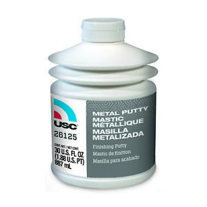 Usc Metal Putty Polyester Finishing And Blending Putty 30 Oz 26125