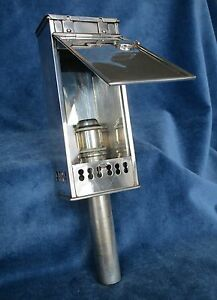 Miller Sons Of 179 Piccadilly Silver Plated Candle Lamp C 1880