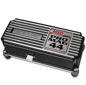 Msd 81473 Pro Mag 44 Amp Electronic Points Box With Rev Limiter Black