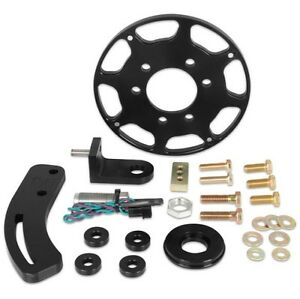 Msd 86103 Black Block 7 Balancer Crank Trigger Kit For Chevy Small