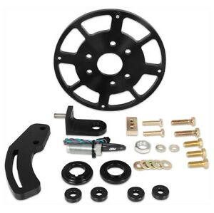 Msd 86153 Black 8 Balancer Crank Trigger Kit For Chevy Small Block