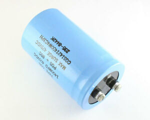 Mallory 1400uf 400v Large Can Electrolytic Capacitor Cgs142t400w4c3ph