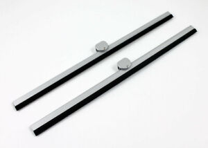 Vw Type2 Bus 1955 1967 Windshield Wiper Blades 275mm Silver Deluxe Microbus Pair