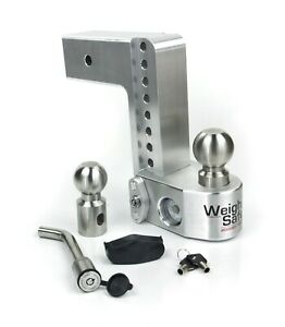 Weigh Safe Ws8 3 Adjustable 8 Drop Hitch W 3 Shaft Weight Scale keyed Alike