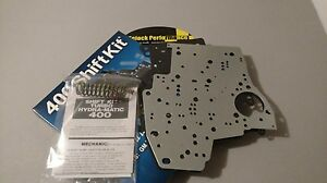 Th400 Transmission Shift Kit By Transgo Plate Kit With Springs