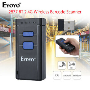 Portable Laser Handheld Barcode Scanner Bar Code Reader For Ios Android Windows