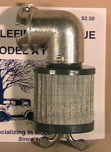 1928 1931 Model A Ford Airmaze Air Filter Flame Arrester