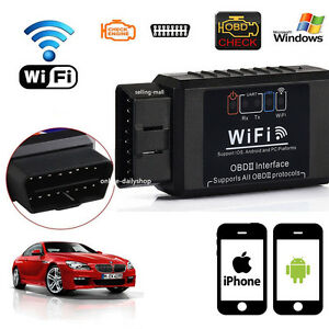 Wifi Obd2 Obdii Auto Car Diagnostic Scan Tool Scanner For Iphone Android