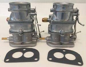 Ford Flathead Carbs 2 Super 97 Natural Finish 2 Bbl