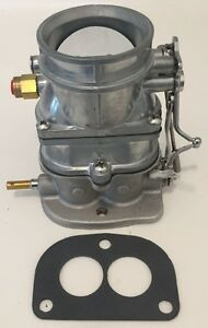 Ford Flathead Carb Super 97 Natural Finish 2 Bbl