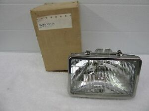 Nos 1976 1989 Buick Chevy Olds Caddy Lh Front Headlight Capsule Gm 5973929 Dp