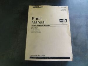 Caterpillar Cat 980g Ii Wheel Loader Parts Manual Awh Sebp3095 44 Volume Ii