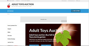 Adult Toys Adult Video Auction Website Domain Conten For Sale Auctionxxx com