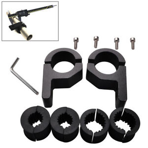2 X 1 Inch Off Road Bull Bar Mount Bracket Tube Clamps For Hid Atv Led Light Bar