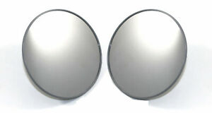 Vw Type 2 Bus Round Industrial Side View Mirrors Hella German W Stainless Arms